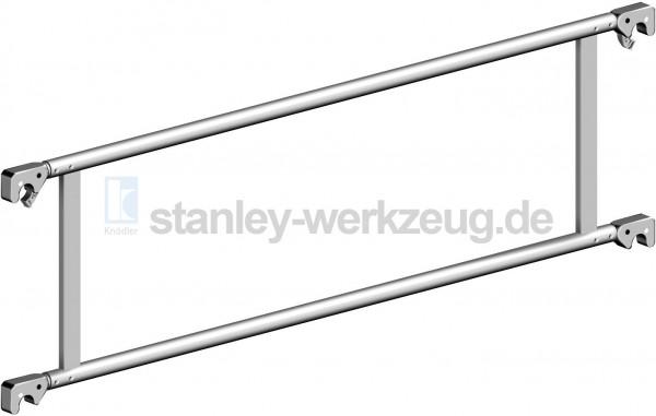 Layher Fahrgerüst Doppelgeländer aus Aluminium