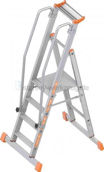 Layher Plattformleiter Topic 1074 1x4 Stufen