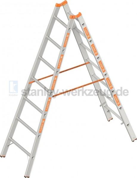 Gebrauchte Layher Topic 1039 Sprossen Stehleiter in verschiedenen Längen