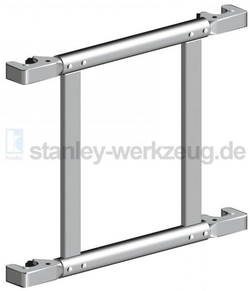 Layher Fahrgerüst Geländer für Doppelaufbau